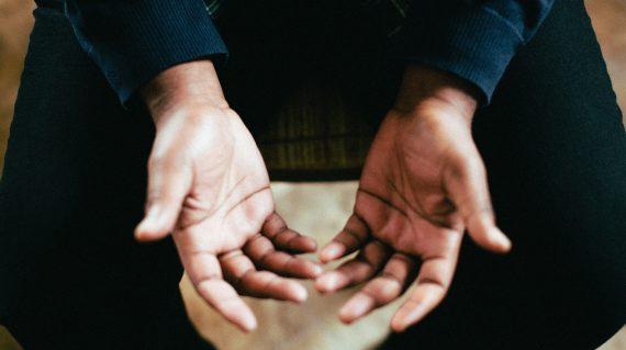 Sfeerbeeld handen
