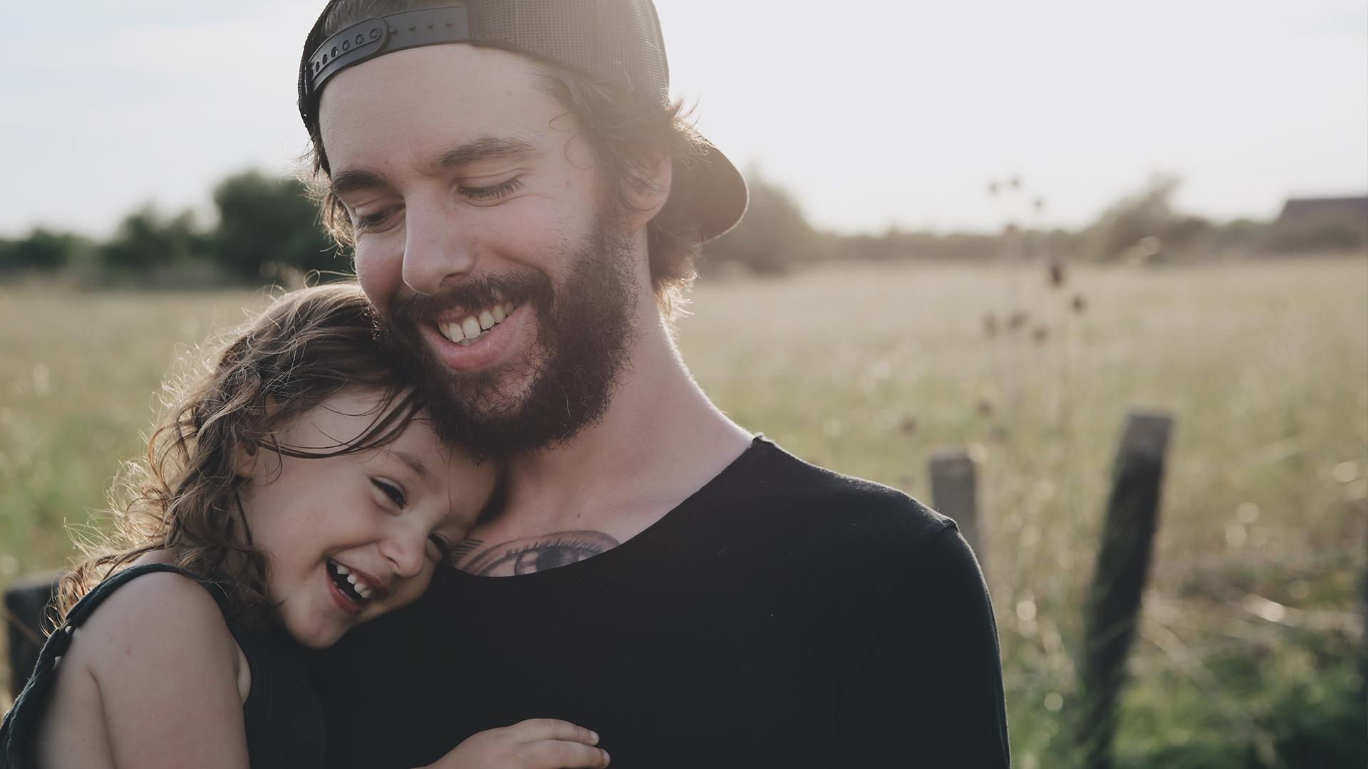 Sfeerbeeld vader kind